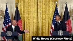 جریان کنفرانس مطبوعاتی روسای جمهور افغانستان و امریکا در قصرسفید