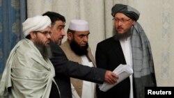 Taliban nümayəndə heyətinin üzvləri