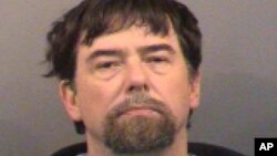 FILE - Terry Lee Loewen, a former avionics technician who admitted plotting a suicide bomb attack at a Wichita airport, pleaded guilty to attempting to use a weapon of mass destruction, Aug. 31, 2015.
