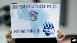 El 24 de febrero pasado, dirigentes sindicales y trabajadores de Polar rechazaron una eventual intervención o expropiación por parte del Estado.