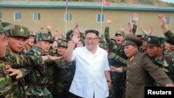 ڕێبەری کۆریای باکور کیم جون ئؤن