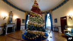 美國白宮聖誕樹。