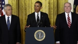 Obama Picks Hagel, Brennan for Pentagon, CIA Posts