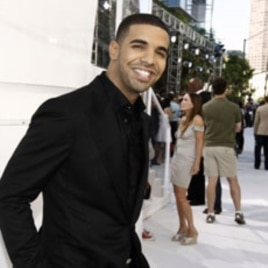 Aubrey Drake Graham arrives at the MTV Video Music Awards in 2010