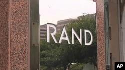 Ulaz u RAND Corporation, jedan od prvih američkih think-tankova