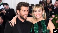 «مایلی سایرس» و «لیام همسورث» دسامبر گذشته ازدواج کرده بودند.