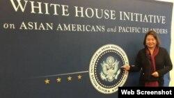 杨莅在白宫 (杨莅脸书)