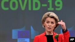 Presiden Komisi Eropa Ursula von der Leyen