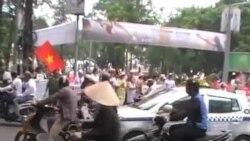 Công an VN trấn dẹp biểu tình, 1 người thiệt mạng
