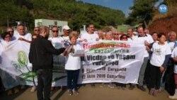 İzmir'den Çanakkale'ye Kazdağları İçin Yürüyorlar