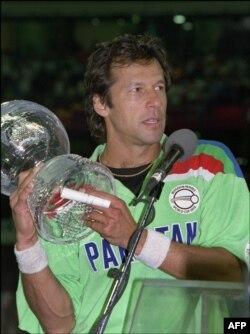 1992 کے ورلڈ کپ میں پاکستان ٹیم کے کپتان عمران خان