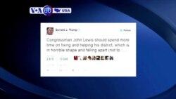 Manchetes Americanas 16 Janeiro: John Lewis e Presidente-eleito Donald Trump desentendem-se