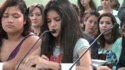 La historia de Mayeli que llegó de Honduras
