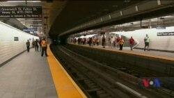 У Нью-Йорку відкрили станцію метро, зруйновану під час теракту 11 вересня 2001 року. Відео