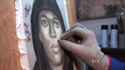 Sketch Artist Helps Catch Criminals, Gives a Face to Deceased