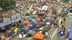 学联发起广场投票 向政府施压
