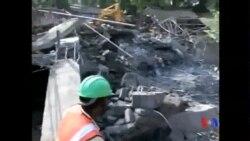 2014-06-29 美國之音視頻新聞: 印度建築倒塌百多名工人被困
