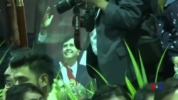 數千人向前秘魯總統加西亞悼念