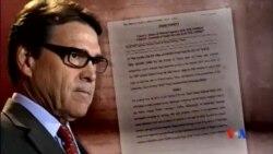 2014-08-17 美國之音視頻新聞: 德州州長誓言反抗對他的濫用職權控罪
