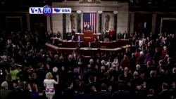 VOA60 America - The 115th United States Congress sworn in