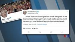 特朗普總統把國安顧問博爾頓解職