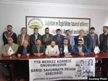 TTB'ye 'Savaş Halk Sağlığı Sorunudur' Cezasına Tepki