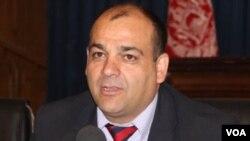 ویس احمد برمک، وزیر دولت افغانستان در امور حوادث طبیعی