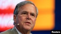 Jeb Bush, exgobernador de Florida, se postuló para la nominación presidencial republicana en 2016, sin éxito.