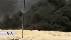 داعش ئاگری گەورە دەکاتەوە لەو خەندەقانەی لێـیانداون