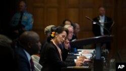 အျပည္ျပည္ဆုိင္ရာ တရား႐ုံး (ICJ) ပထမေန႔ ၾကားနာပဲြ သတင္းဓါတ္ပံုမ်ား