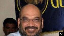 گجرات کے سابق وزیرِ داخلہ امیت شاہ