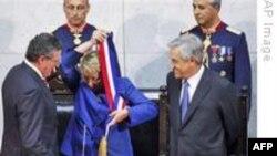 Şili'de Artçı Sarsıntı, Cumhurbaşkanı'nın Yemin Törenine Denk Geldi