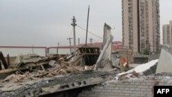 北京拆迁工地