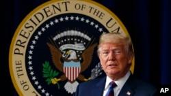 El presidente de EE.UU., Donald Trump, dice que ha logrado más que cualquiera de sus predecesores.