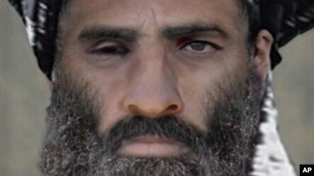 FILE -Taliban leader Mullah Omar.
