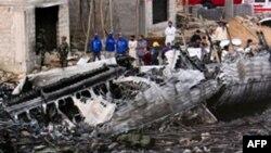 პაკისტანში რუსული წარმოების თვითმფრინავი ჩამოვარდა