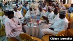 Liyafar cin abinci na bikin cika shekara hamsin da gwamnan Borno yayi