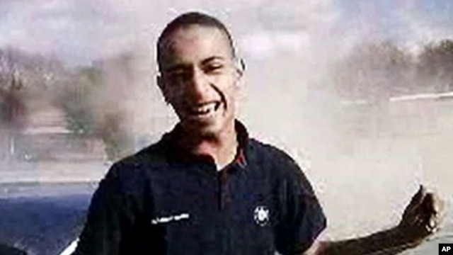 A TV grab released by French TV France 2 shows an image of 23-year-old Frenchman of Algerian descent Mohammed Merah, March 22, 2012.