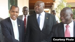 Some ministers in the new-look cabinet appointed by President Robert Mugabe