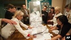 """روس نے کہا ہے کہ وہ ان ریفرنڈموں کے نتائج کا """"احترام"""" کرتا ہے۔"""