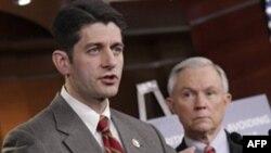 Председатель Бюджетного комитета Палаты представителей республиканец Пол Райан (архивное фото)
