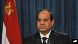 Presidente egípcio Abdel-Fattah el-Sissi