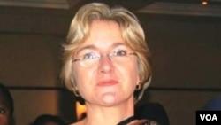 Charlotte Scott, wife of Zambian Vice President Guy Scott