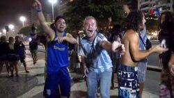 Argentinos invaden Rio