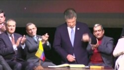 Colombia ratifica paz con las FARC