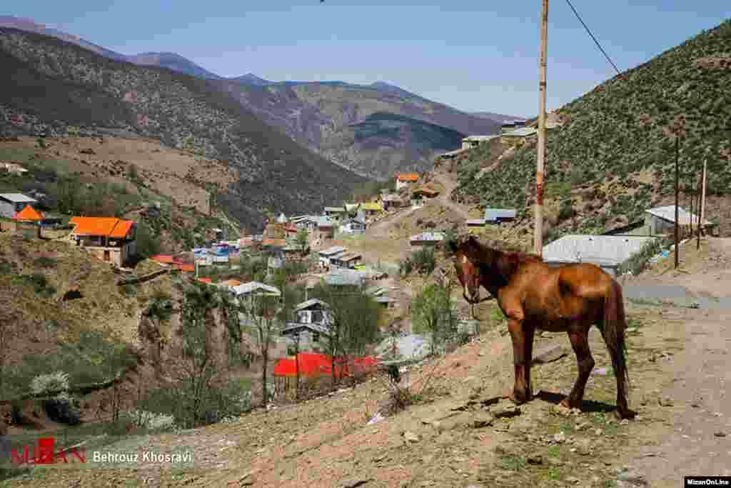 «ورازان» نام دهکده ۸۰۰ساله در منطقه کجور که در ۷۰ کیلومتری شهرستان نور مازندران واقع شده است. عکس: بهروز خسروی