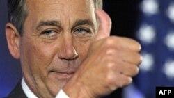 Trưởng khối Cộng hòa tại Hạ viện, ông John Boehner dự trù sẽ trở thành chủ tịch Hạ viện mới