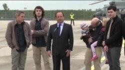 فرانسويان گروگان در سوريه آزاد شدند