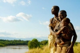 Three generations of Omo River people gaze over their beloved waterway … But their way of life is increasingly threatened, say activists