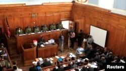 Une vue d'ensemble sur la Cour suprême à Nairobi, Kenya, le 25 mars 2013.